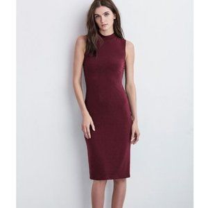 Velvet Graham & Spencer Shai Mock Neck Midi Dress